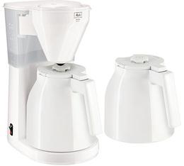 Cafetière filtre Melitta Easy Therm 1010-051 blanche + 2ieme verseuse + offre cadeaux