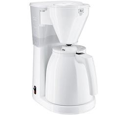 Cafetière filtre Melitta Easy Therm 1010-05 blanche + offre cadeaux