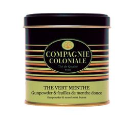 Boite Luxe Compagnie Coloniale Thé Vert Menthe - 120 gr
