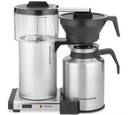 Cafetière filtre Moccamaster CDGT avec verseuse isotherme 1.8L Pack Pro