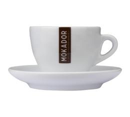 Tasses et sous tasses Cappuccino par 6 - Mokador