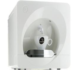 Machine à capsules Mokador Castellari Dado blanche + Offre Cadeaux