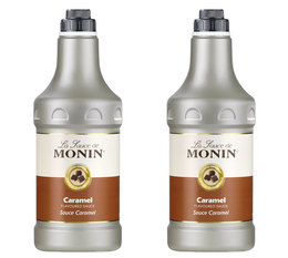 Topping Coulis Sauce Caramel - Monin - 2 x 1.89 L