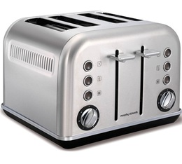 Toaster Accents Refresh Inox 4 fentes - Morphy Richards