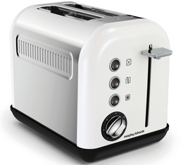 Toaster Accents Refresh 2 tranches blanc - Morphy Richards