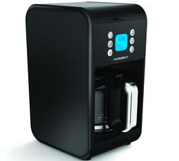 Cafetière programmable Morphy Richards Accents Refresh Noire + offre cadeaux
