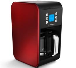 Cafetière programmable Morphy Richards Accents Refresh Rouge + offre cadeaux