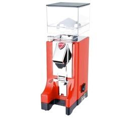 Moulin à café Eureka Mignon Professionnel Rouge MCI/MT220 - Avec timer (déconnectable)