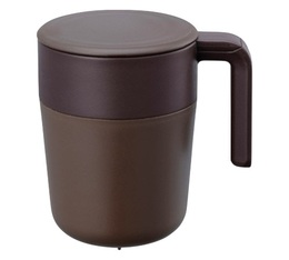 Mug Cafepress Marron - 26cl - Kinto