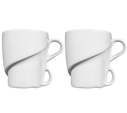 Delissea set of 2 x 300ml mugs