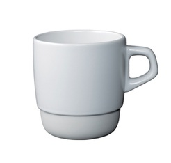 Mug empilable blanc 32 cl Kinto