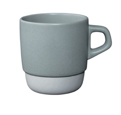 Mug empilable gris 32 cl Kinto