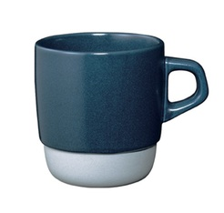 Mug empilable navy 32 cl Kinto