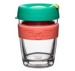 Mug en verre double paroi 'Fennel' 34 cl - KEEP CUP