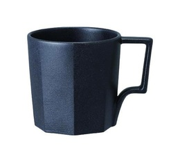 KINTO OCT Black porcelain mug - 300ml