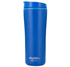ALADDIN Recycled & Recyclable travel mug in blue - 350ml