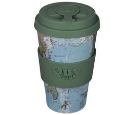 QuyCup 'Map' eco-friendly reusable cup - 400ml