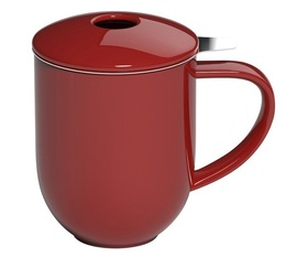 Loveramics Pro Tea Mug with infuser & lid in Red - 300ml
