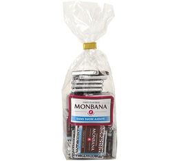 napolitains chocolat noir sans sucre ajout 120g monbana. Black Bedroom Furniture Sets. Home Design Ideas