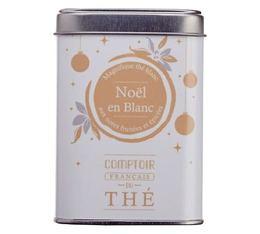 Boite thé vrac 'Noël en Blanc' - Comptoir Français du Thé - 40g