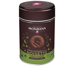 Monbana hazelnut-flavoured cocoa powder - 250g
