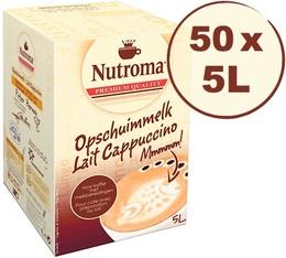 50 BIB de lait Nutroma Cappuccino de 5L (=250L)