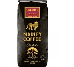 Café moulu bio Marley Coffee - 227 g - One Love