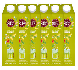 Lot de 6 Smoothies Green 1 L - One & Only