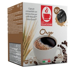Capsules Nescafe® Dolce Gusto® compatibles Orge x16