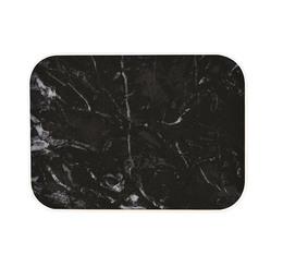 Plateau OSMOSE Zak! Designs - 28 x 20 cm - marbre/noir