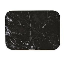 Plateau OSMOSE Zak! Designs - 40 x 30 cm - marbre/noir