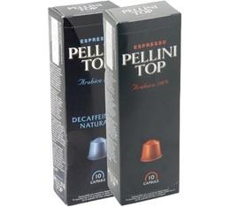 Pack 480 capsules (Pellini Top / Pellini Top Decaffeinato) pour Nespresso