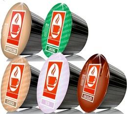 Pack découverte - 100 capsules Dolce Gusto® compatibles