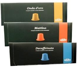 Pack découverte Caffé Mauro - 30 capsules pour Nespresso