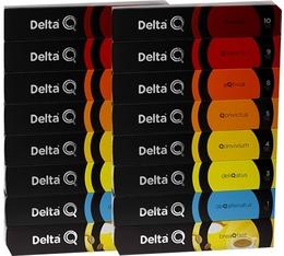 Pack découverte 150 capsules Delta Q
