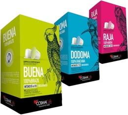 Pack découverte Pure-Origine Cosmai Caffe - 30 capsules pour Nespresso