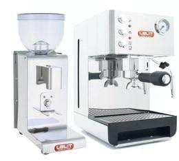 pack machine expresso moulin avec timer pl41em pl044mmt lelit. Black Bedroom Furniture Sets. Home Design Ideas