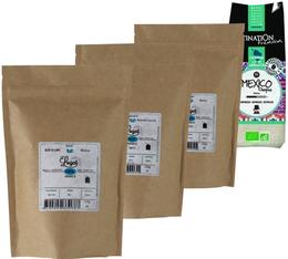 Pack Pure Origine (Exclusivité MaxiCoffee) : 4 cafés moulus  x 250g