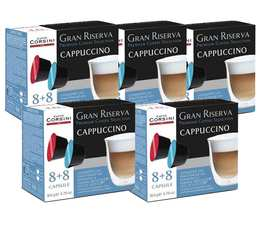 Pack Capsules Gran Riserva Cappuccino (40 boissons) - Caffè Corsini pour Dolce Gusto x80