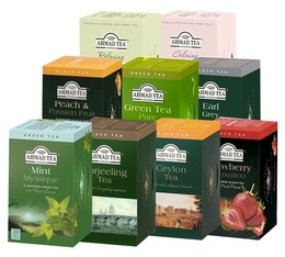 Pack découverte 9 boîtes de 20 sachets - Ahmad Tea