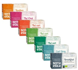 Selection pack of rooibos and teas - 7 x 20 tea bags - Terra Etica