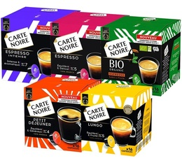 Carte Noire Selection Pack for Dolce Gusto - 5 different coffees
