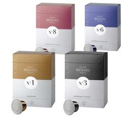 Pack découverte capsules Café Richard x 96