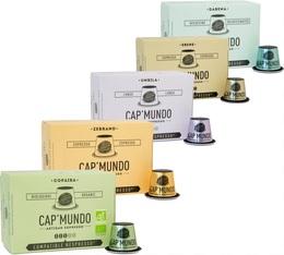 Pack découverte Cap'Mundo - 50 capsules pour Nespresso