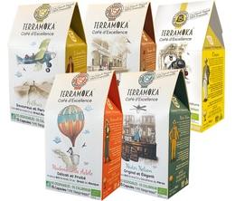 Pack découverte capsules compatibles Nespresso biodégradable - TerraMoka