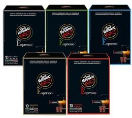 Pack découverte Caffè Vergnano - 50 capsules pour Nespresso