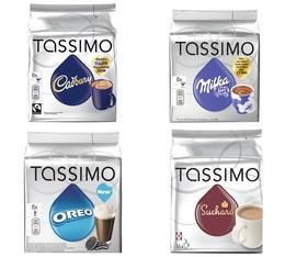 Pack découverte Chocolat - Tassimo 40 T-Discs