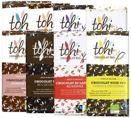 Pack découverte Tablette de chocolat - 7x70g - Tohi