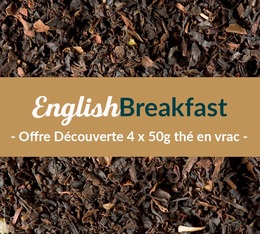 Pack découverte Thé Breakfast (4 x 50 g) - Exclusif MaxiCoffee
