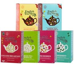 Pack découverte 6 boîtes de 20 sachets - English Tea Shop